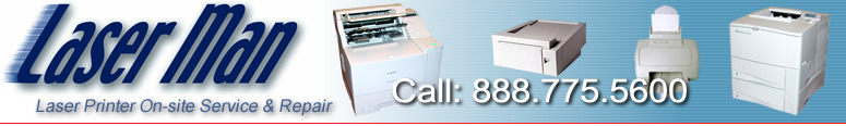 Laserman - on-site laser printer service and repair FAIRFIELD COUNTY CT